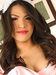 Gorgeous Bangkok ladyboy Maid