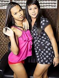 Natty and Rabbit are two horny Bangkok girls