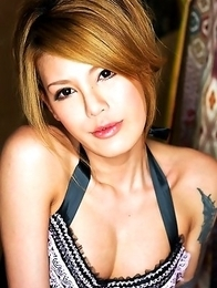 Rui is a hot newhalf who is new to Shemale-Japan. She has a beautiful body with all the curves in the right place and lovely round breasts.