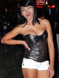 Wild candids photos of amateur Ladyboy girlfriends