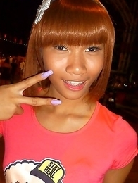 Private flashing pics of cute and horny Thai femboy Jess