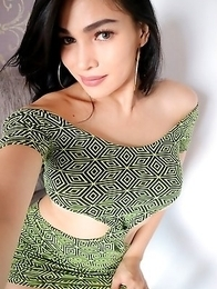 Ts Filipina Sexy Dress Selfie
