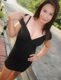 Self shot candid nudes from horny Pattaya Kathoey Pu