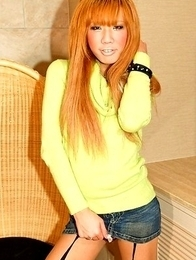 Teenage shemale superstar Reina from Osaka is a just-turned