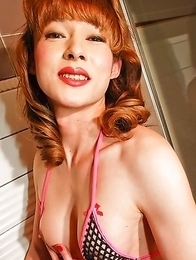 Aiko gets to have fun, nice dinners and great sex!