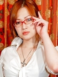 Hot shemale like Maria Tominaga then meet in the back office for a deep fucking on the desk.