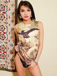 Sophie is a sexy and popular ladyboy who works in the Fairy bar in Nana plaza.
