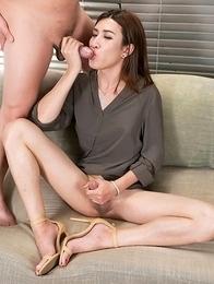 Allison Cock Masturbation and Blow Job