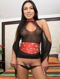 Emmy swallowing geisha bareback